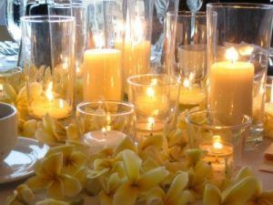 candle-and-flowers