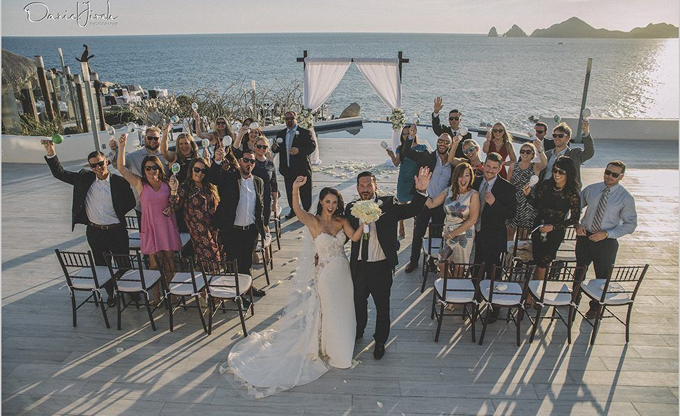 Sunset Wedding in Los Cabos