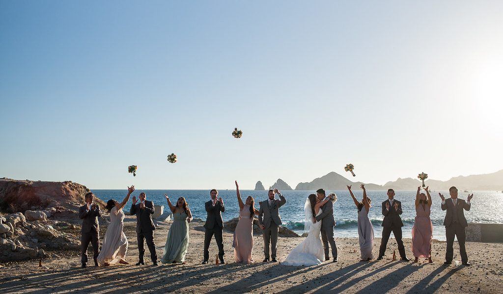 Tiffany & Bobby- A February Wedding in Los Cabos, Mexico