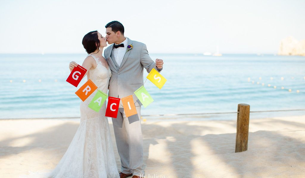 Hacienda Meets the Ocean kind of Wedding