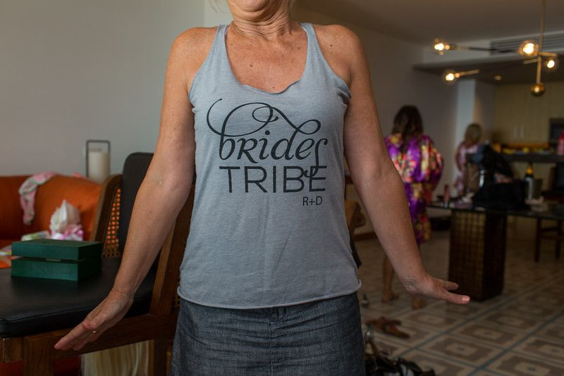 Bride Tribe on Wedding Day at The Cape