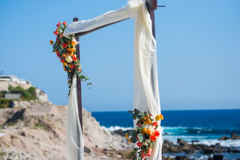 Wedding Ceremony at The Cape Los Cabos