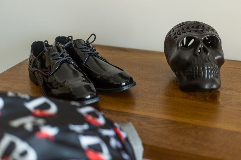 Groom Shoes on Wedding Day