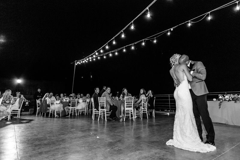 First Dance as Husband and Wife at The Cape Cabo San Lucas