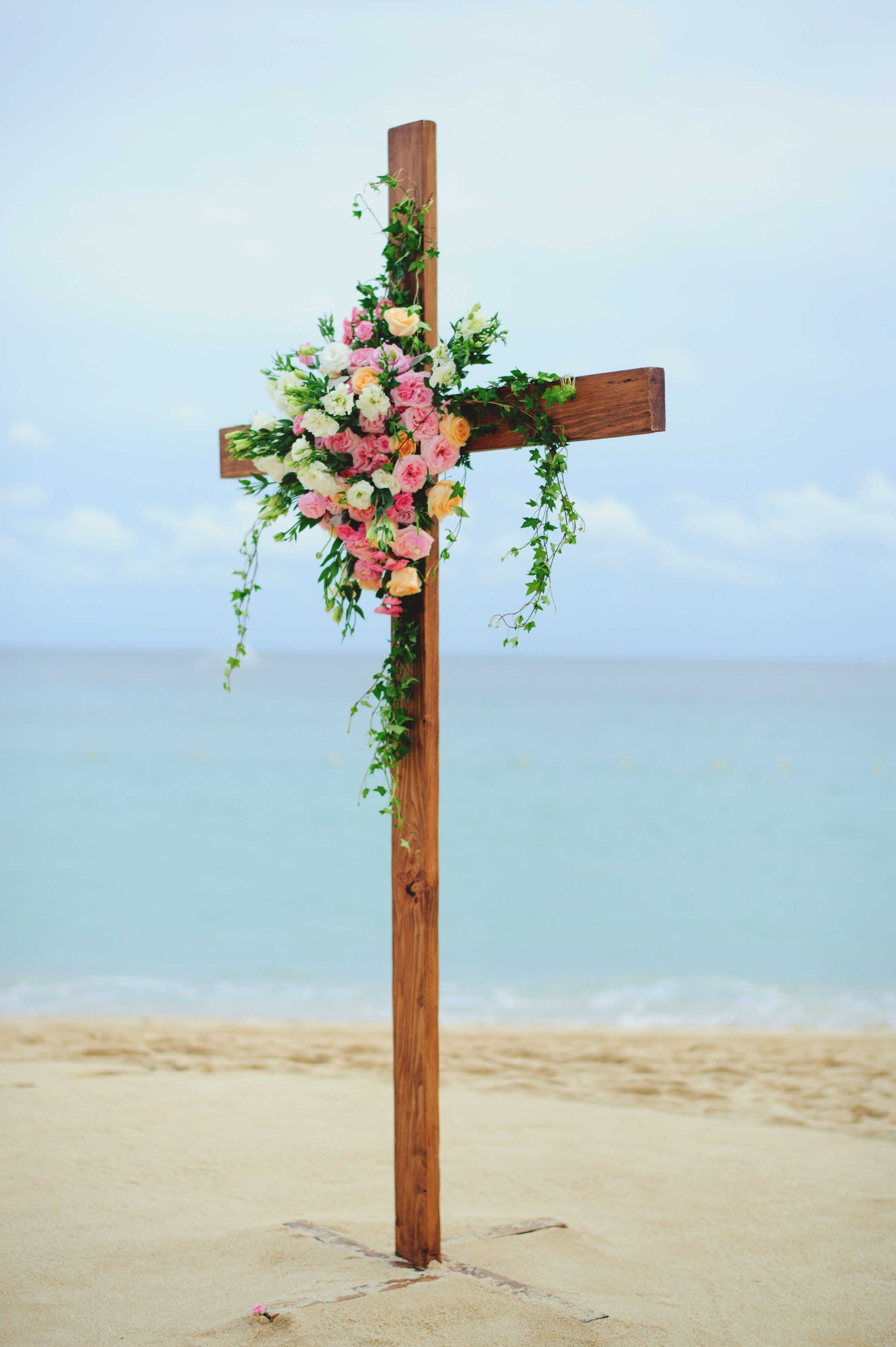 Ceremony Design at Wedding in Cabo San Lucas by Cabo Wedding Services