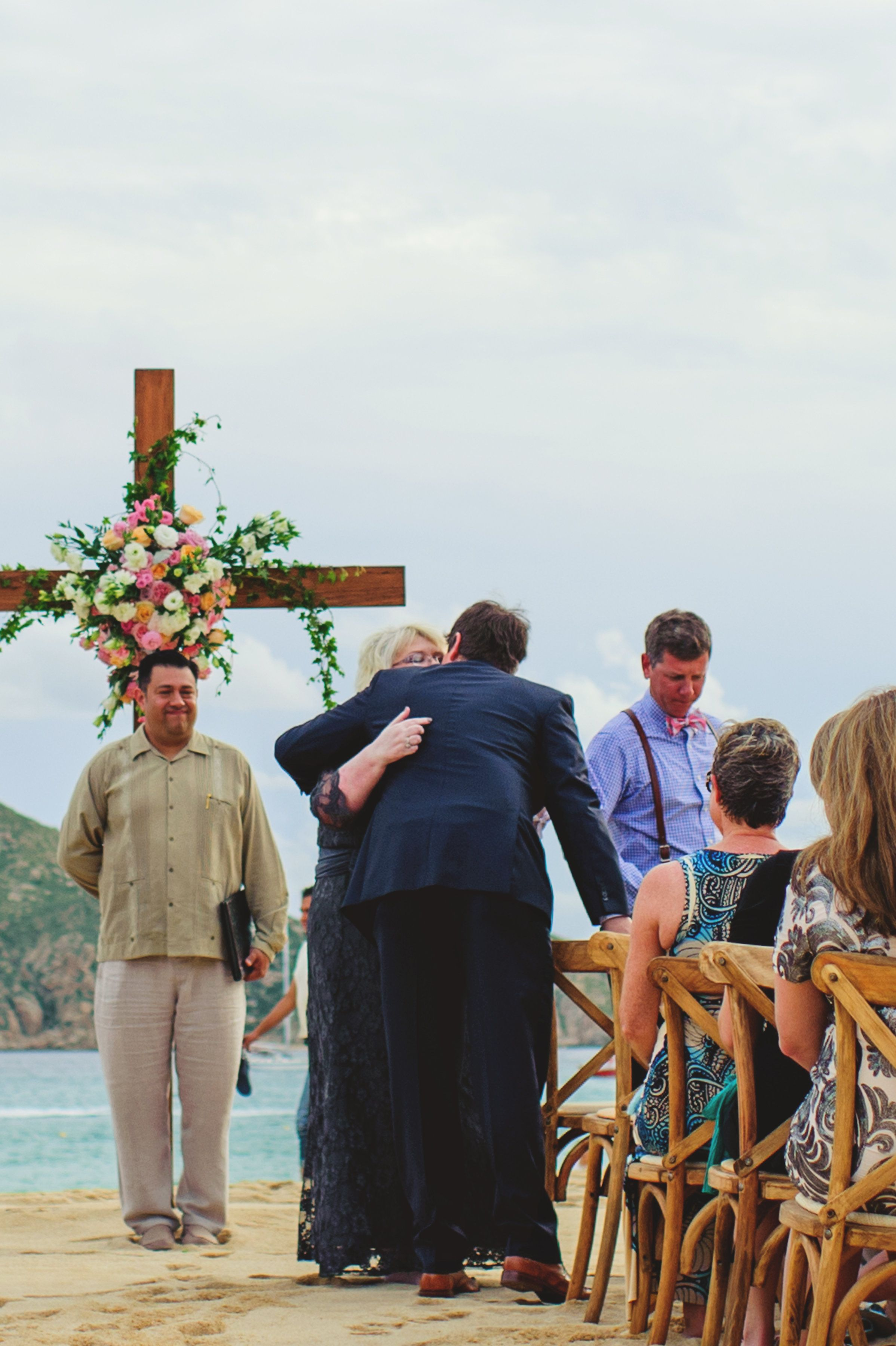 Beach Wedding Ceremony in Mexico
