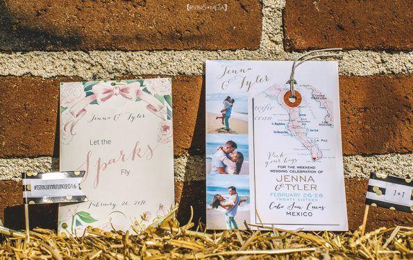 Flora Farm Wedding - Jenna & Tyler Say I do in Los Cabos!