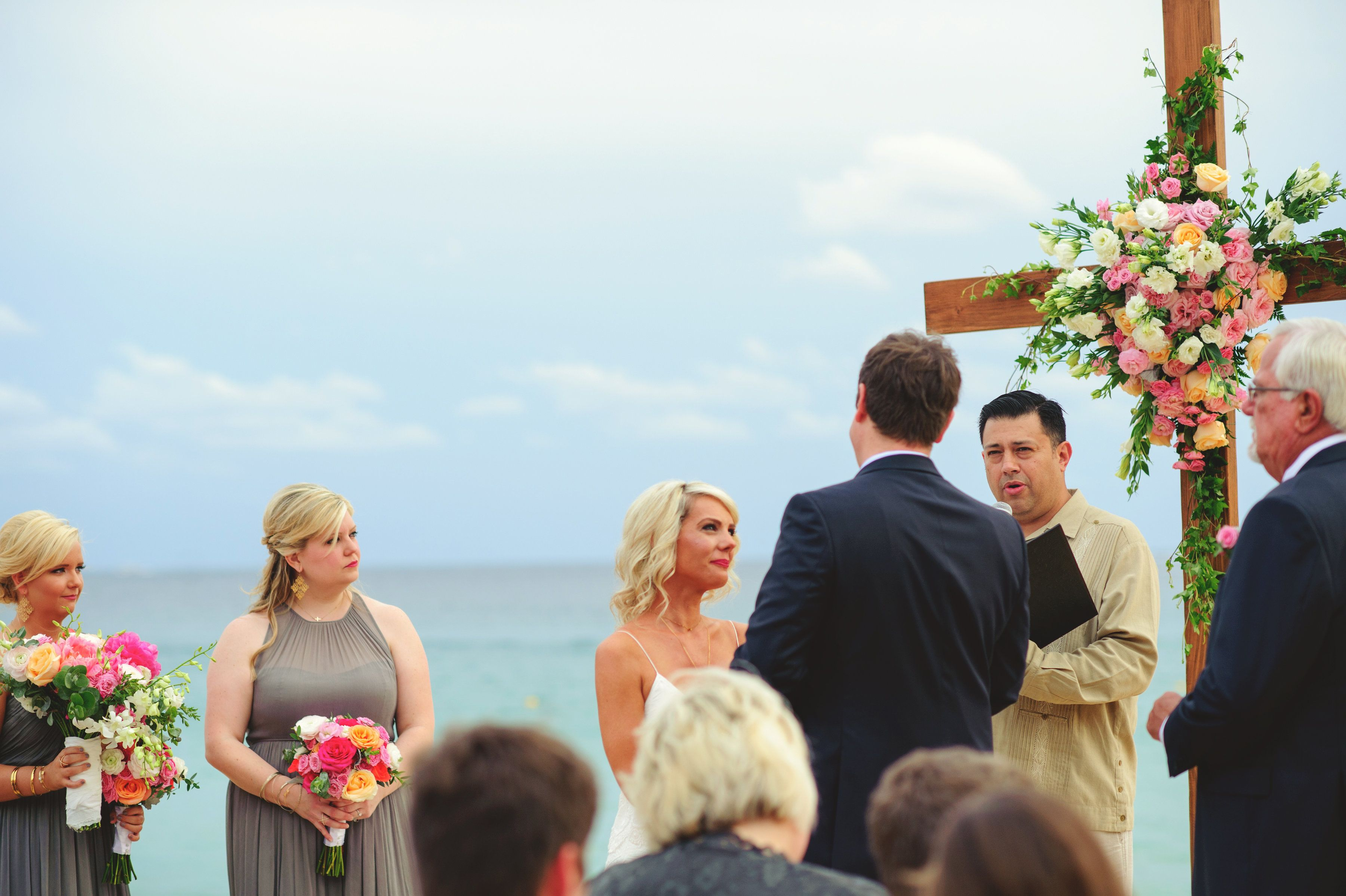 Beach Wedding Ceremony in Cabo San Lucas