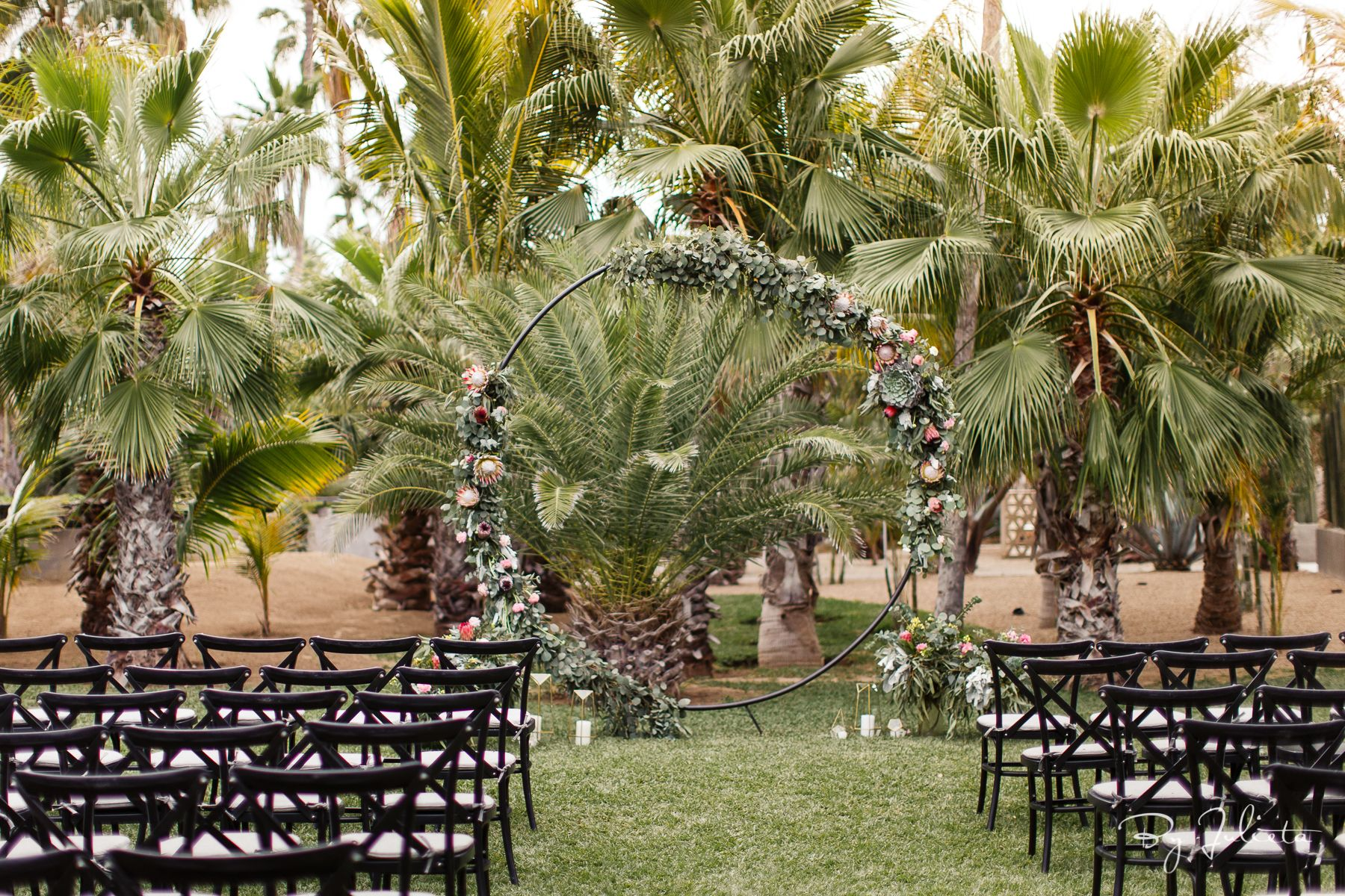 Ceremony Design by Jesse Wolff at Acre Baja by Cabo Wedding Services