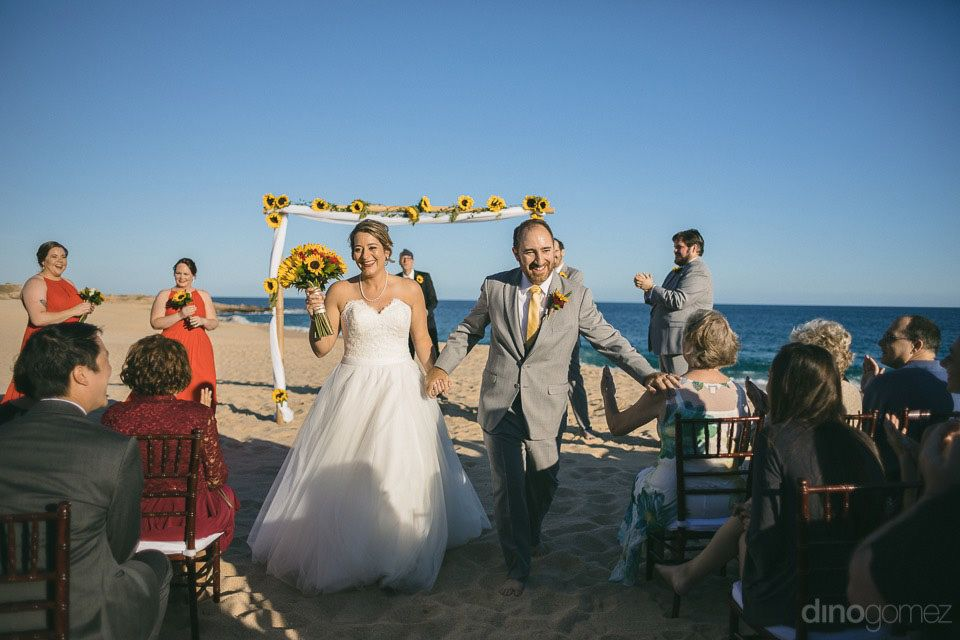 Wedding Ceremony at Sheraton Hacienda del Mar in Cabo San Lucas Wedding Planner Cabo Wedding Services