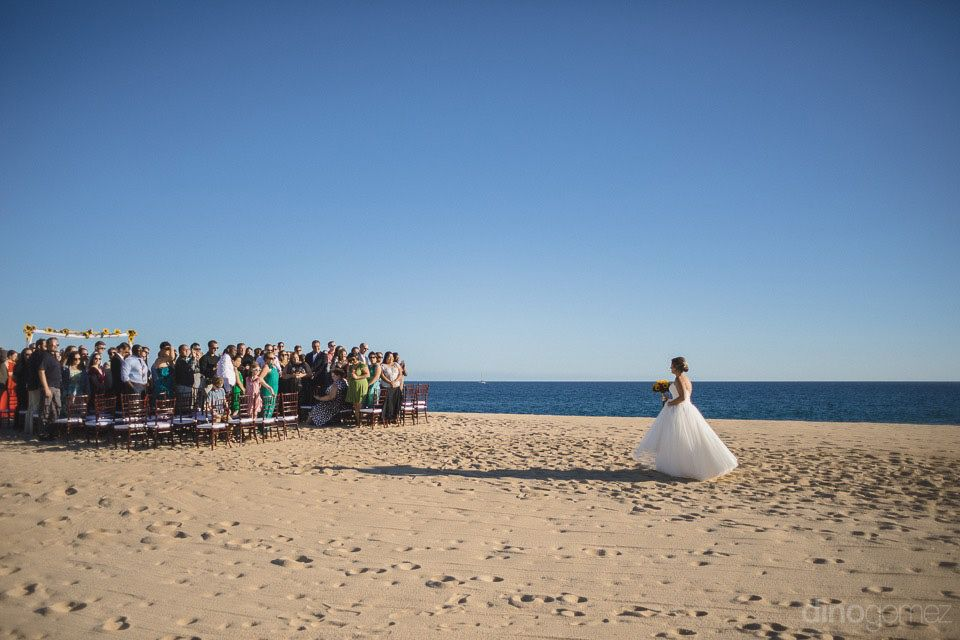 Beach Wedding Ceremony at Sheraton HAcienda del Mar Cabo San Lucas. Wedding Planning Cabo Wedding Services