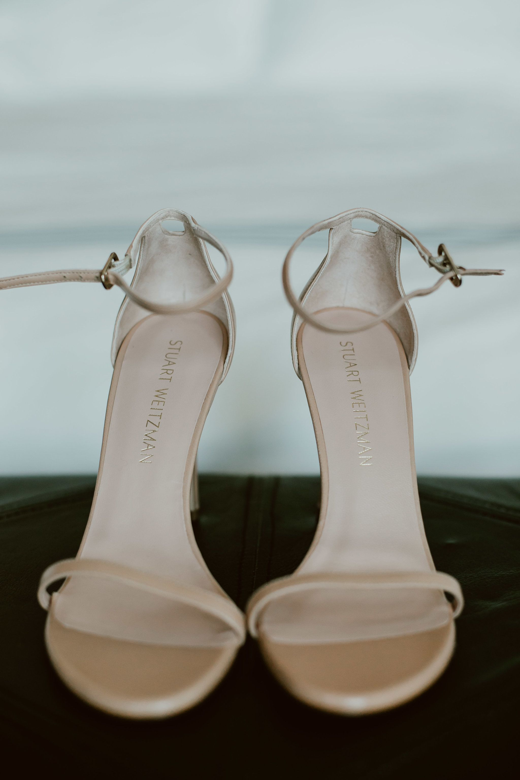 Stuart Weitzman Shoes for Wedding Day at The Cape by Thompson Hotels in Los Cabos Mexico