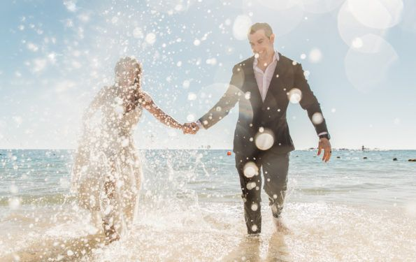 Trash the Dress Session - Cabo Wedding Style