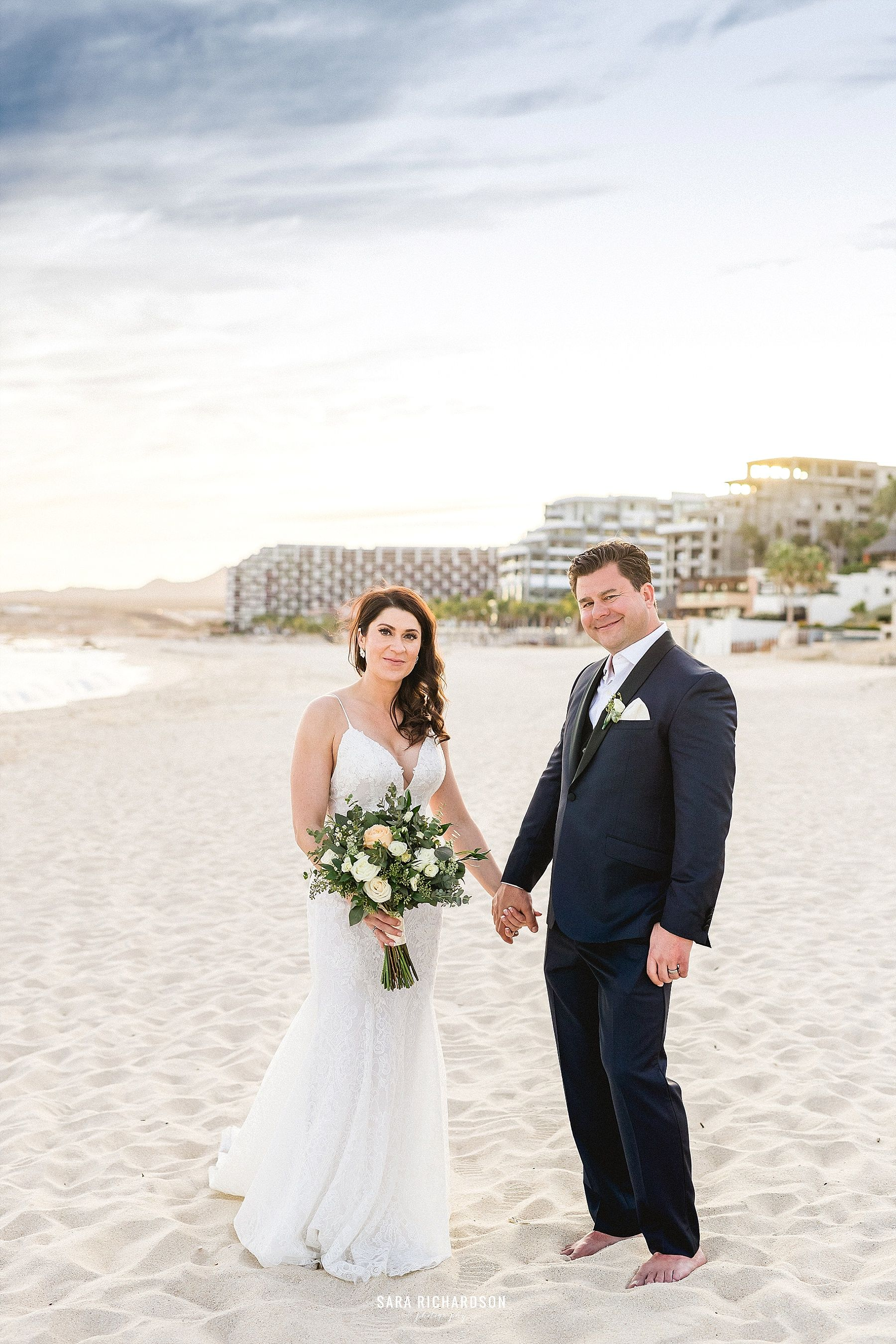 Bride and groom photo session in Los Cabos Mexico. Wedding Planning was done by Cabo Wedding Services and Wedding Design was done by Jesse Wolff