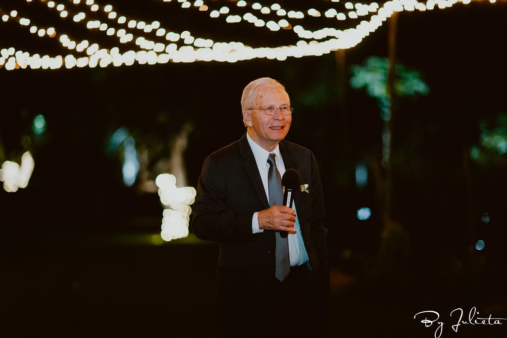 Father of the Groom giving his speech at his son's wedding Day. It went flawless and we had the best time. As Wedding Planners, it is our main goal to always make sure that everything flows flawless, and that the wedding is stress free. We are so happy to announce when a wedding is exactly that!