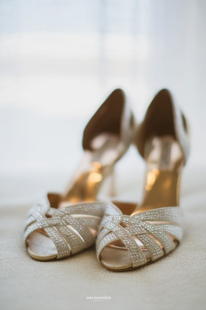 Jimmy Choo shoes for our bride who decided to have a Destination Wedding in Los Cabos Mexico. Wedding Planning was done by Jesse Wolff from Cabo Wedding Services