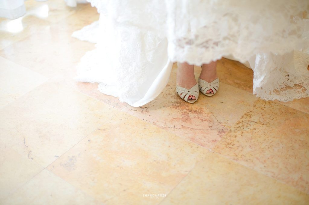 Beautiful Jimmy Choo shoes worn by our Bride Lauren, who used us at Cabo Wedding Services to plan her destination wedding in Mexico.