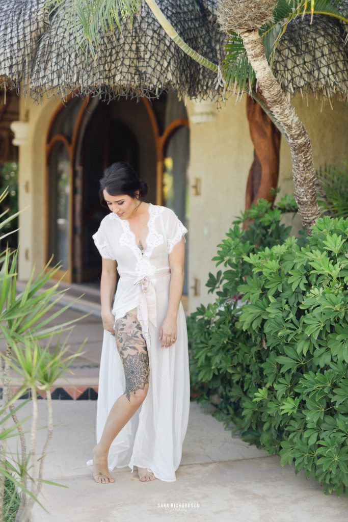 Bride getting married in Los Cabo Mexico