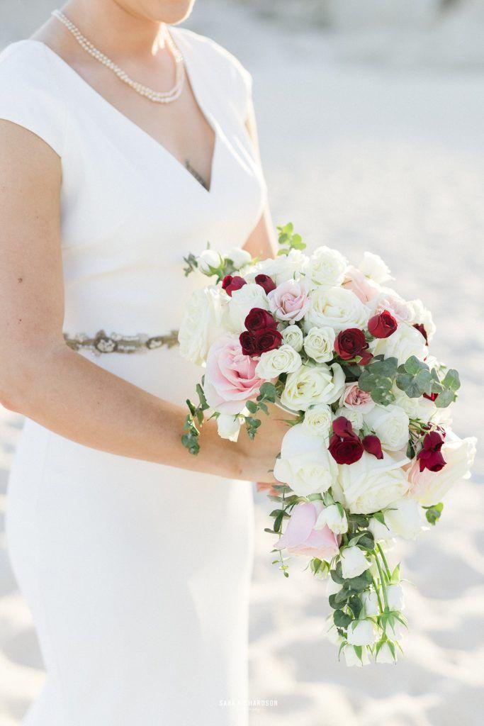 Bridal Bouquet at Destination wedding in Los Cabos Mexico