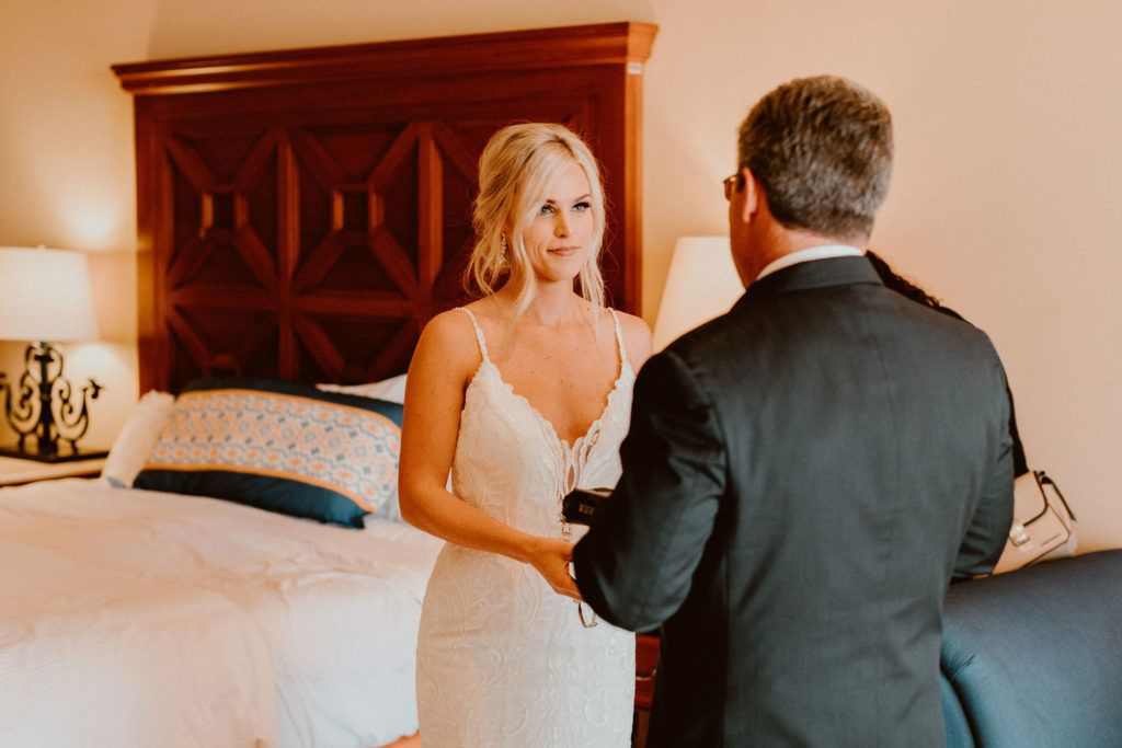 Bride with her Father, prior to the ceremony. Just a pure bond, nobody else can take.