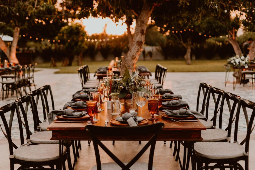Wedding Table Reception design  by Jessica Wolff from Cabo Wedding Services.  This wedding took place at Acre Baja in Cabo Mexico. A perfect location for your Destination Wedding. Wedding Photography was done by Ana and Jerome