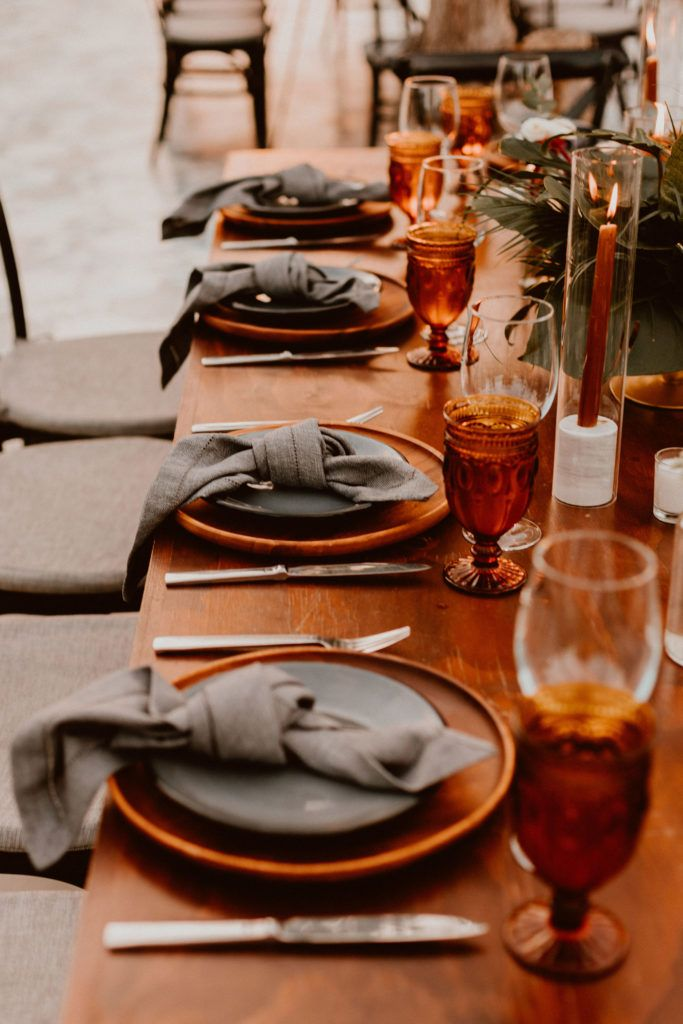 Table Decor at Destination wedding at Acre Baja in Los Cabos Mexico. Wedding Planning was done by Jessica Wolff at Cabo Wedding Services. The photography was done by Ana and Jerome