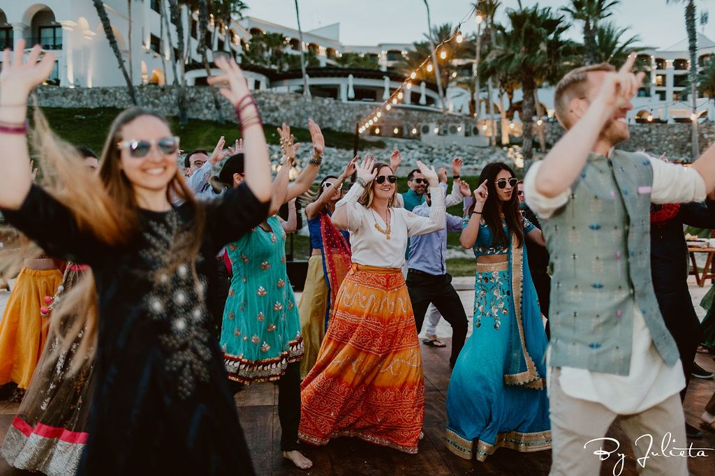 Dances being held  at the Hilton Los Cabos for the Sangeet