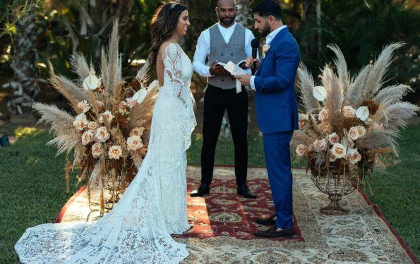 Fashion Blogger's Dream Come True Wedding