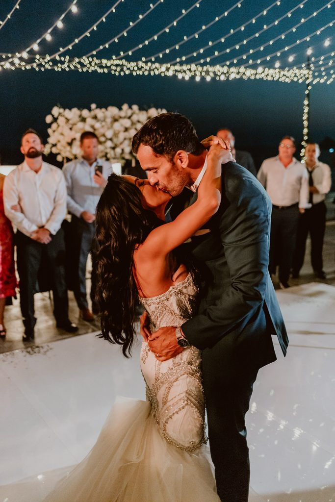 Bride and Groom doing their First Dance as husband and wife.